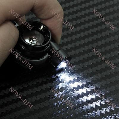 Electronic Turbo Turbine Key Chain Keychain Key Ring w/ Sound and LED - Black