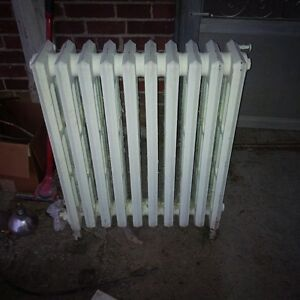 cast iron antique radiator
