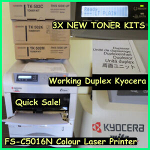 Network Laser Color Printer Kyocera FS-C5016N