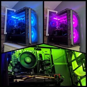AMD Ryzen Gaming PC in Coolermaster H500P Chassis