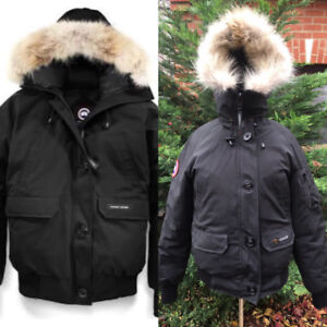 Black CANANDA GOOSE CHILLIWACK PARKA JACKET SZ SMALL $400.00