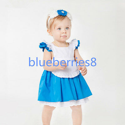 Alice In Wonderland baby Girl Fancy Dress Lolita Costume Halloween Kids'Outfit  - Baby Halloween Fancy Dress Outfits