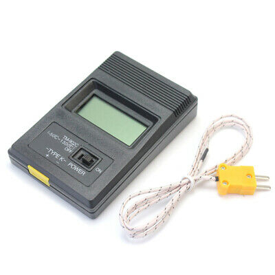 High Accuracy Lcd Digital Thermometer Temperature Meter With Sensor Probe Uus