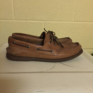 Sperry - Tan Leather, lightly used