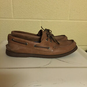 Sperry - Tan Leather, lightly used Kitchener / Waterloo Kitchener Area image 1