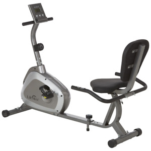 LifeMax Recumbent Exercise Bike, New