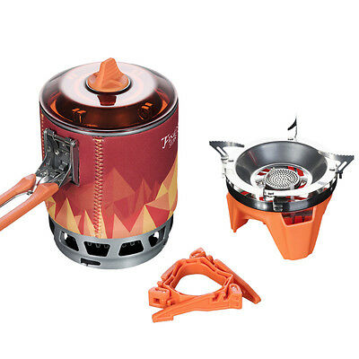 Fire Maple Outdoor Cooking Hiking Camping Pot One Piece Gas Stove Burner 0 8L