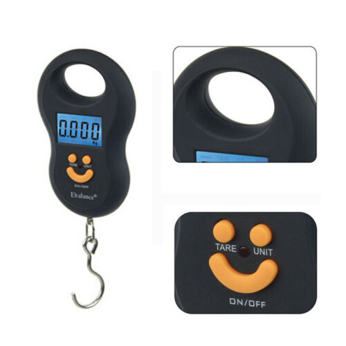 NEW 50KG/10G PORTABLE DIGITAL HANGING LUGGAGE SCALE TRAVEL ELECTRONIC WEIGHT