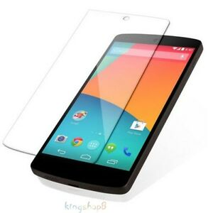 TRANSPARENT TEMPERED GLASS SCREEN PROTECTOR FOR LG NEXUS 5