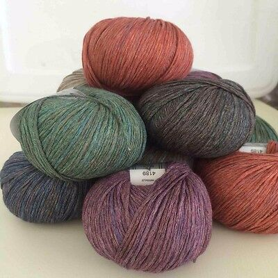 Sesia Kreo Yarn 100% Cotton From Italy- GORGEOUS VARIEGATED COLORS- SALE!!
