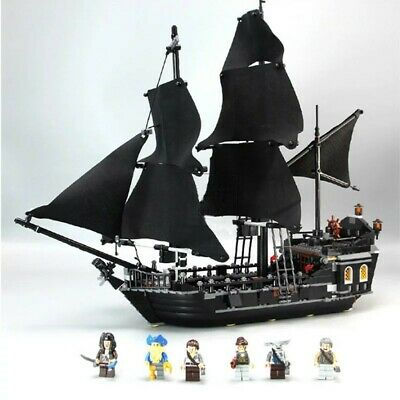 Pirates of the Caribbean The Black Pearl Pirate Ship Legoed Blocks Toys (Caribbean Pirate Kit)