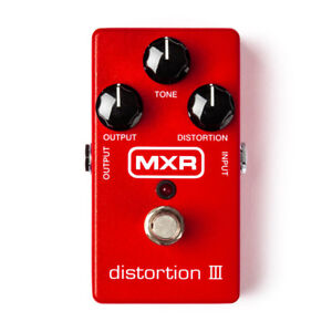 MXR Distortion 3 and Cord