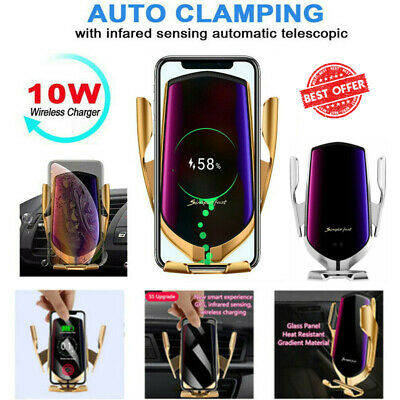 Wireless Automatic Sensor Car Phone Holder and Charger 100% ORIGINAL 2019