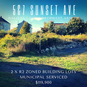 2 Vacant Building Lots For Sale