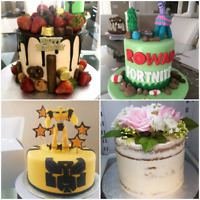 Custom Birthday Cakes, Cupcakes and much more!