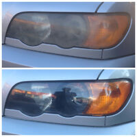 RESTAURATION DES PHARES / Headlight Restoration / Polishing