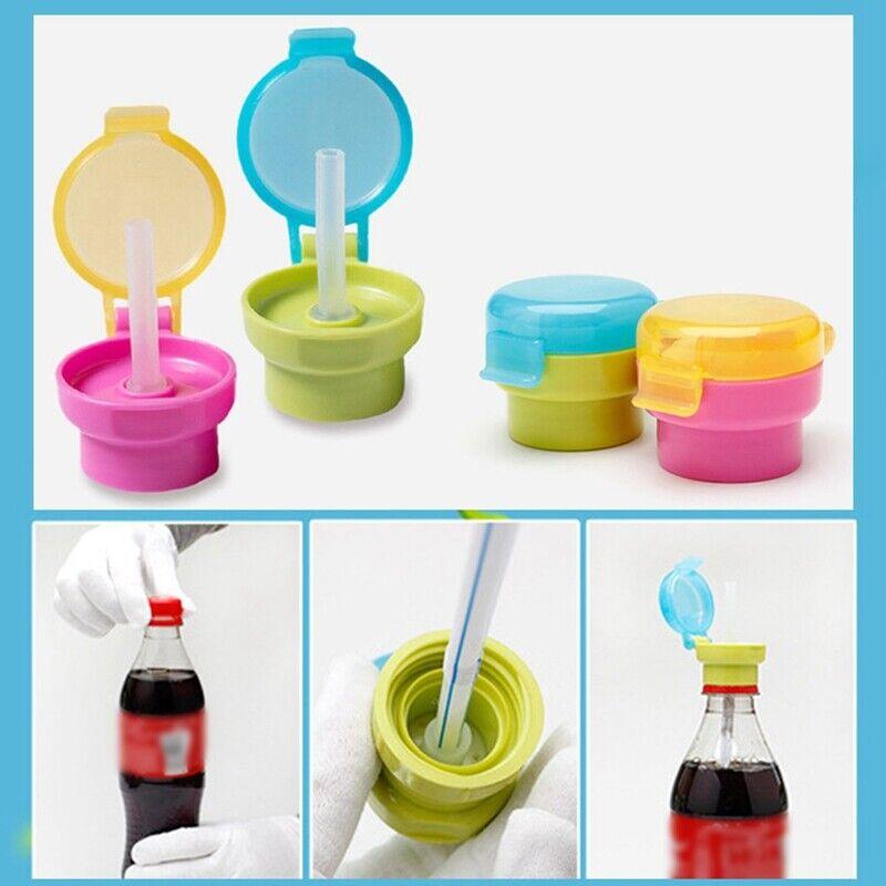1x Baby Kids Boys Girls Feeding Drink Prevent Chok Straw Bot