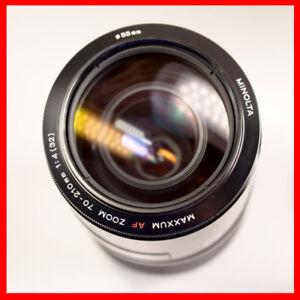 for Sony A mount DSLR, Minolta 70-210mm F4 full frame AF lens