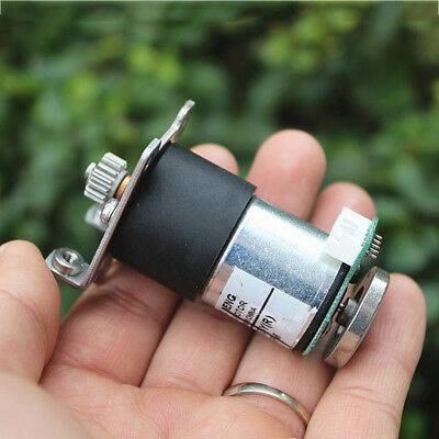 Dc 5v12v 70rpm Mini 27mm Metal Gear Motor Gearbox Speed Encoder Diy Robot Car