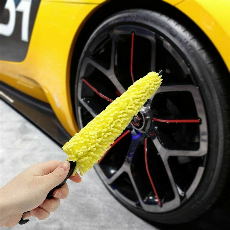 Car Wheel Brush Cleaning Wash Tool Microfiber Gloves Auto Washing Tools Rim Tire
