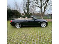2008 BMW 3 Series 335i M Sport E93 CONVERTIBLE Black Petrol Auto NAV 4XNEW TYRES