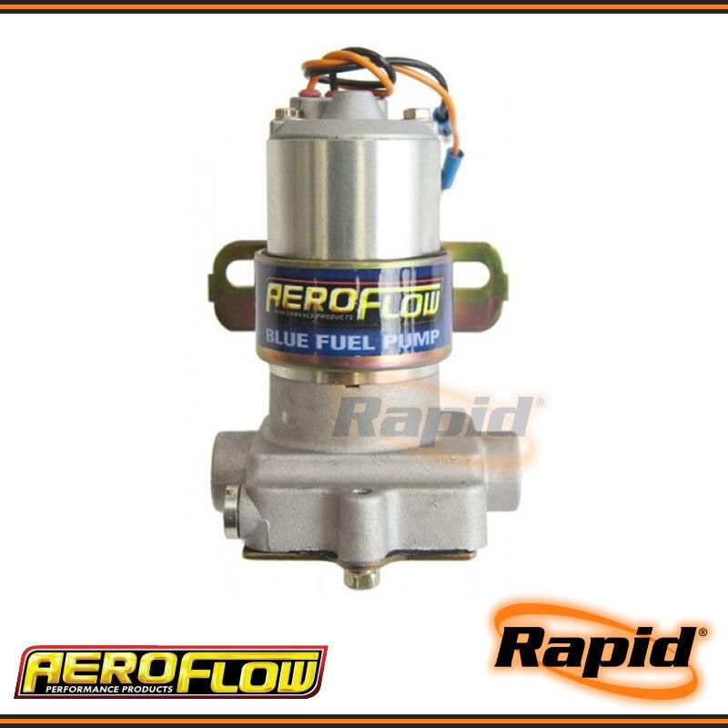 Aeroflow 110GPH 14 PSI Blue Electric Fuel Pump AF49-1009 for Holley /& Demon Carb