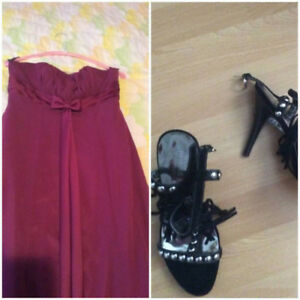 Guess sandals and gown