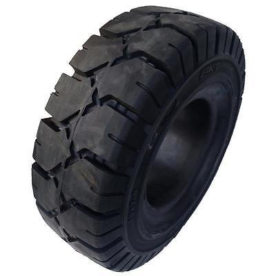 6.50-10  BKT Vollgummireifen für Stapler, Ohne Haltenase, Gabelstapler Reifen