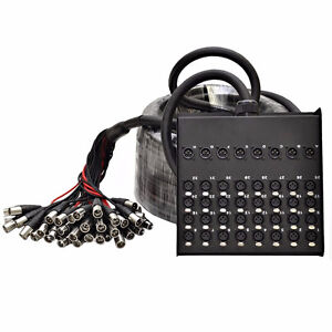 Wanted: 24 or 32 Channel Audio Snake W/ Box