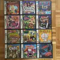 NINTENDO DS GAMES USED