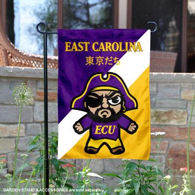 ECU Pirates Tokyodachi Garden Flag and Yard Banner