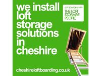 Cheshire Loft Boarding - Approved LoftZone Loft Storage Specialist - 5 Year Guarantee - FREE QUOTES