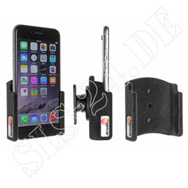 Brodit 511660 iPhone 6, 6s, 7 Halterung beflockt, passiv Halter für KFZ Konsole