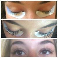 Eyelash extensions! Full $60 Fill $40