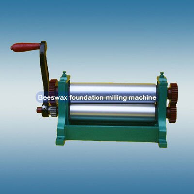 Aluminum Alloy Smooth Beeswax Foundation Milling Machine 3.4 Roller Diameter