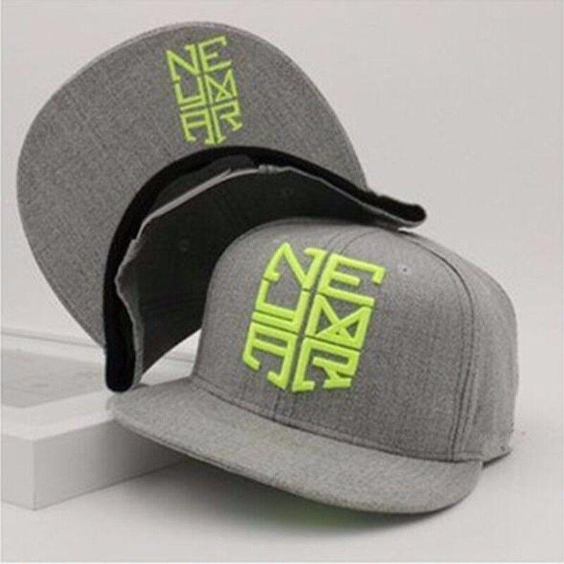 9f7484375ea Details about New Neymar JR Snapback Cap Njr Hat Hip Hop Sports Brazil  Baseball Gorras Planas