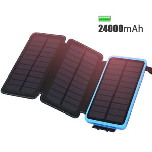 Solar Power Bank - 24000mAh *** Brand New ***