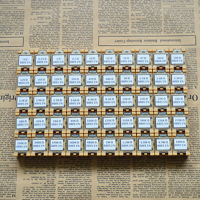 50 Value 0805 Smd Assorted Resistor Kit In Box 5000pcs 18w 1rohs
