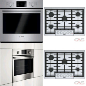 BOSCH WALL OVEN & COOKTOP COMBO