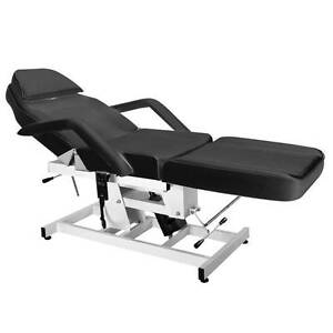 1 Motor Hydraulic Electric Beauty Bed Massage Table Tattoo Shop Rocklea Brisbane South West Preview