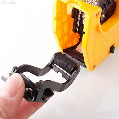 Dd6e Single Row Price Tag Gun Maker Labeller Coding Machine Ink Wheel Black