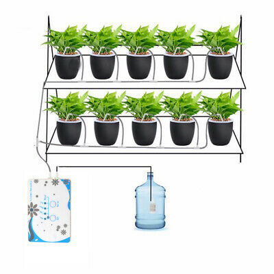 Automatic Plant Watering System Drip Irrigation Timer Garden Controller -