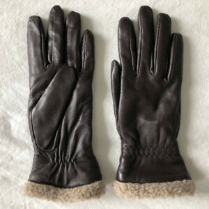 ** Brand New - Women's Genuine Leather Gloves - Small Size **