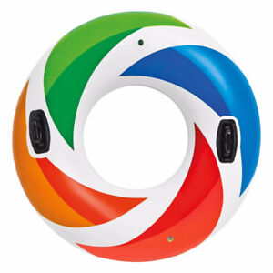 Intex Color Whirl Tube With Handles 47-Inch Diameter- Like New