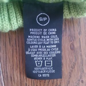 PICKLE GREEN AND NAVY DOG/CAT SWEATERS - Size Small, Never Worn Cambridge Kitchener Area image 5