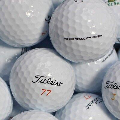 150 Golfbälle Titleist Velocity Modell 2017 AAA/AAAA Lakeballs Bälle golf balls ()