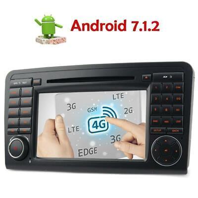 Für Benz ML/GL-Klasse W164 X164 Android 7.1.2 Autoradio DVD GPS NaviB BT DAB+