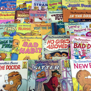 Lot 22 Berenstain Bears First Time Books Homeschool Storybooks