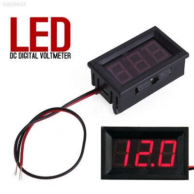 9e6c Lcd Digital Dc Red Led Voltmeter Panel Voltage Volt Meter Gauge 2 Wire