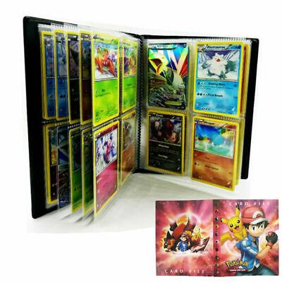 240 Cards Pokemon Card Album Binder Folder Book List Collection Photo Holder Red